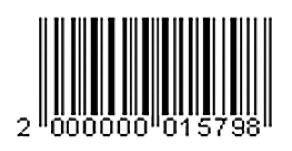クーポンバーコード